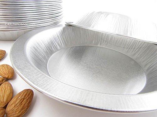 Disposable/Reusable Heavy Duty Aluminum 6'' Mini Pie Pans #622- 9 oz Capacity (1,000)