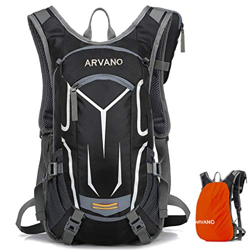 6L Breathable Biking Backpack Lightweight Ski Rucksack,Small Bicycle Backpack for Running Riding Skiing Fits Men Women Arvano Mountain Bike Backpack Cycling Backpack NO Water Bladder
