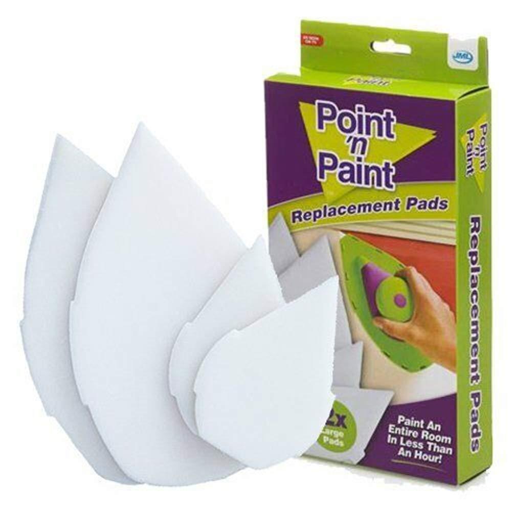 Jml Point n Paint Coussins de remplacement pour syst/ème de peinture 2 x petits et 2 x larges