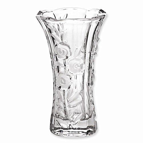 (JE Beautiful Large Crystal Bud Vase)