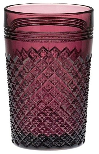 Tumbler - Addison Pattern Mosser Glass USA (Amethyst)