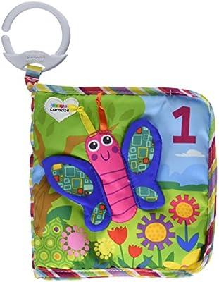 Lamaze Baby Spielzeug Clip & Go 1 2 3 Tierbuch Babyspielzeug