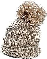 Warm Cuffed Baggy Winter Beanie Knit Crochet Ski Women Lady Hat Cap