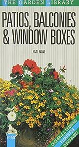 Paperback Patios Balconies & Window Boxes Book