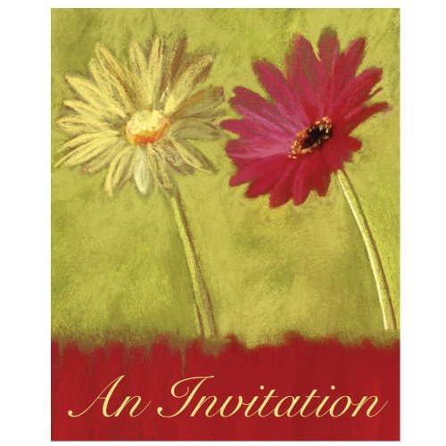 Gerbera Garden Invitations by Creative Converting