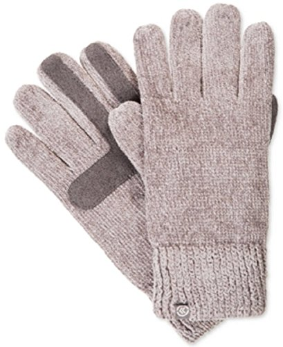 Isotoner Signature Women's Chenille Knit Palm Smart Touch Tech GlovesOne Size