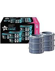 Tommee Tippee Sangenic Recambios Sistema avanzado para desechar pañales Twist & Click, paquete de 6
