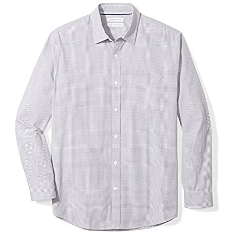 amazon essentials men's regular-fit long-sleeve casual poplin shirt - 51x8830kCrL - Amazon Essentials Men's Regular-Fit Long-Sleeve Casual Poplin Shirt