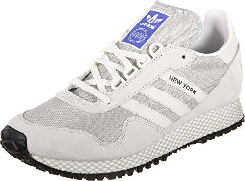 New adidas Hommes Baskets Blanc York rrxHwd