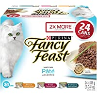 Purina Fancy Feast Pâté Assorted Wet Cat Food Variety Pack - 85 g (24 pack)