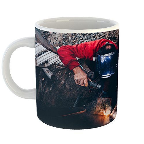 Westlake Art - Coffee Cup Mug - Water Welder - Modern Picture Photography Artwork Home Office Birthday Gift - 11oz (*9m-ba0-ad9) from Westlake Art