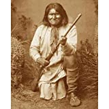 Quality digital print of a vintage photograph - Geronimo. Sepia Tone 11x14 inches - Luster Finish