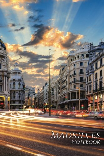 Read Online Madrid, ES Notebook: 150 page Notebook Journal Diary (Business 150) (Volume 9) ebook