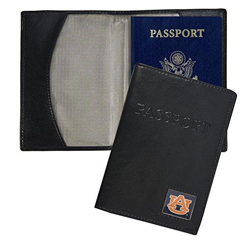 Auburn Tigers Black Leather (NCAA Auburn Tigers Leather Passport Cover)