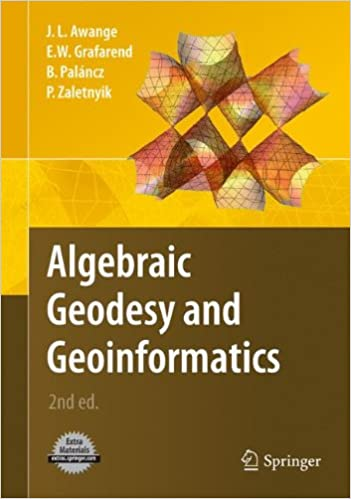 Book Algebraic Geodesy and Geoinformatics