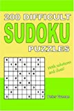 200 Difficult Sudoku Puzzles, Peter Greene, 0955141311