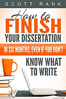 Complete dissertation month