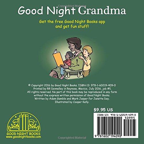 baf710cf2e61 Amazon.com: Good Night Grandma (9781602194090): Adam Gamble, Mark Jasper,  Cooper Kelly: Books