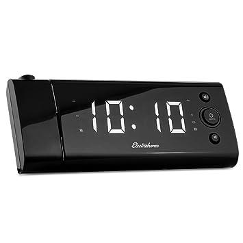 Amazon.com: Electrohome eaac475 Radio Reloj Blanco: Electronics