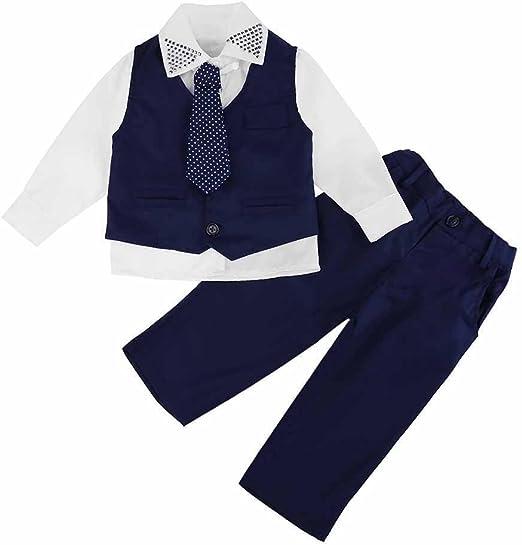 Akaddy - Conjunto de 4 piezas de chalecos para niños, estilo ...