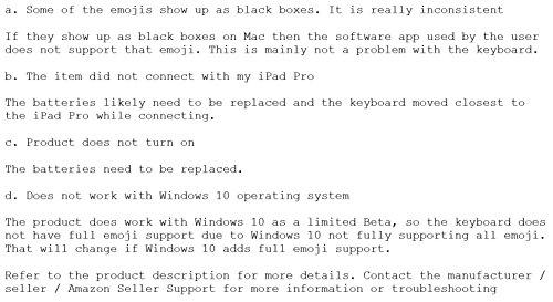 EmojiWorks Emoji Keyboard Pro Bluetooth Wireless Keyboard for Mac