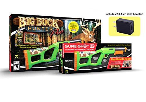 Sure Shot HD Big Buck Hunter® Pro Video Game Pack