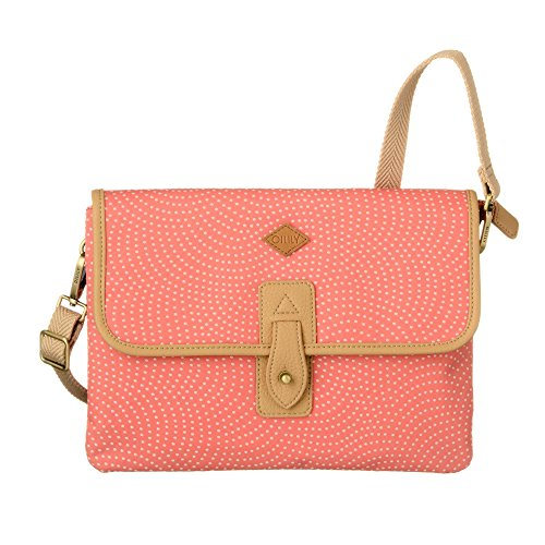 Oilily Swipe M Shoulder Bag Rosa Flamingo