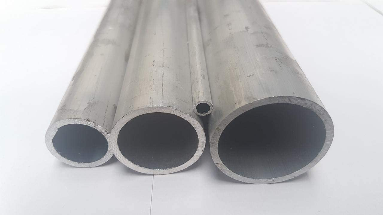 2000mm Aluminium Rundrohr Alu Rohr 48x3mm EN 573//755 L= 500-2000mm