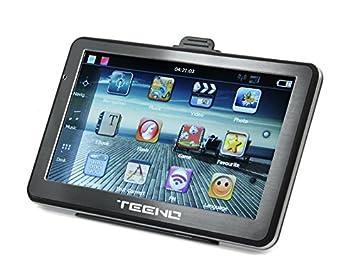 Teeno GPS Navegación para Coche (5inch) Navegador GPS Coche Navegador Integrado Sistema de navegación