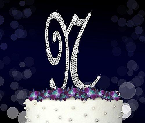 Princess Style Rhinestone Crystal Birthday Cake Topper Decoration Sparkly UK