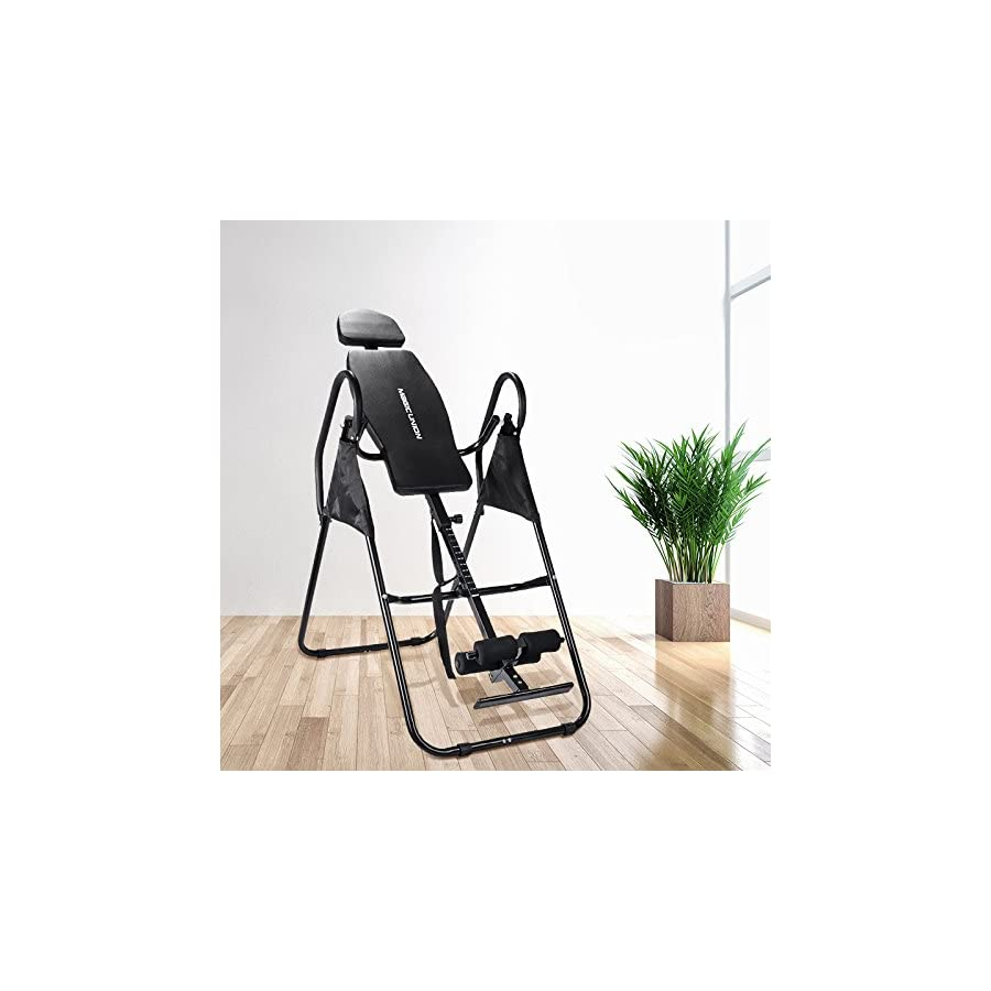 MAGIC UNION Therapy Inversion Table Professional Adjustable Fitness Exercise Machine