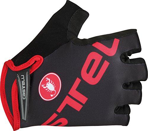 Castelli Tempo V Cycling Glove (Black/Red