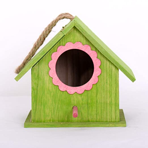 Tlwrnop Casas para Pájaros Nidos para Pájaros Casa De Pájaros Al ...
