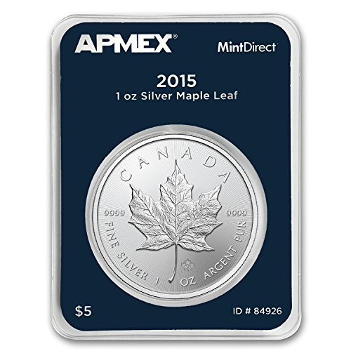 2015 CA Canada 1 oz Silver Maple Leaf (APMEX MintDirect® Single) 1 (Silver Maple Leaf Bullion)