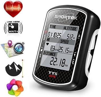 Bicicleta ordenador de bicicleta/Navigator SPORTEK TTS cachezone mapa y pulsómetro: Amazon.es: Deportes y aire libre