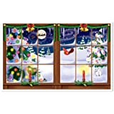 Snowy Christmas Insta-View Party Accessory (1 count) (1/Pkg)