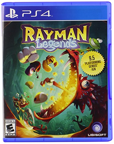 Rayman Legends - PlayStation 4 Standard - Castle Mall Rock