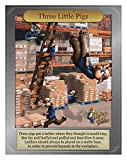 Safety Poster, English, 12'' x 16'', 1 EA pack of 5