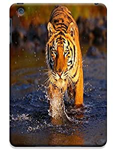 Tiger Case Cover Hard Back Cases Beautiful Nice Cute Animal hot selling cell phone cases for Apple Accessories iPad Mini # 13