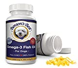 Cheap Benson's Best Omega-3 Fish Oil for Dogs – Provides 43% More Omega-3 Fatty Acids than Salmon Oil! – 200 Softgels – 100% Pure, Non-GMO, Natural Pet Food Supplement – 1000 mg Capsules