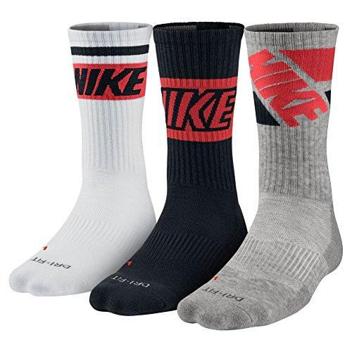 Unisex Nike Dry Cushion Crew Training Sock (three Pair) – DiZiSports Store