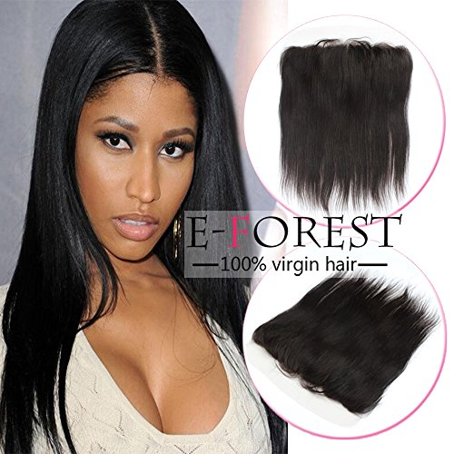 E forest hair Brazilian Frontal Straight