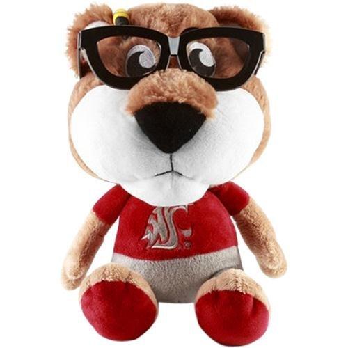 Fabrique Innovations NCAA Study Buddy Mascot Plush Toy, Washington State - Buddy Cougar