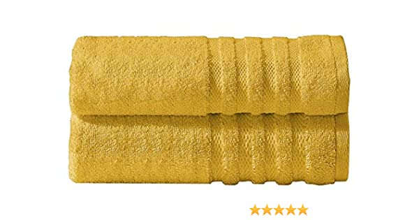 Divine Textiles - Juego de toallas (algodón egipcio, 600 g/m² ...