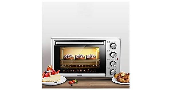 Amazon.com: WPQW Ovens-Mini parrilla eléctrica de horno ...