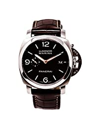 Officine Panerai Luminor Marina automatic-self-wind mens Watch pam000312 (Certified Pre-owned)