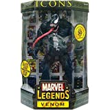 """MARVEL LEGENDS ICONS VENOM COLLECTOR'S EDITION 12"""" ACTION FIGURE"""