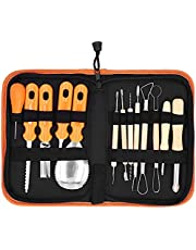 14Pcs Pumpkin Carving Tool Kit, Stainless Steel Carving Tools Set with Carrying Case for Halloween DecorationPractical process