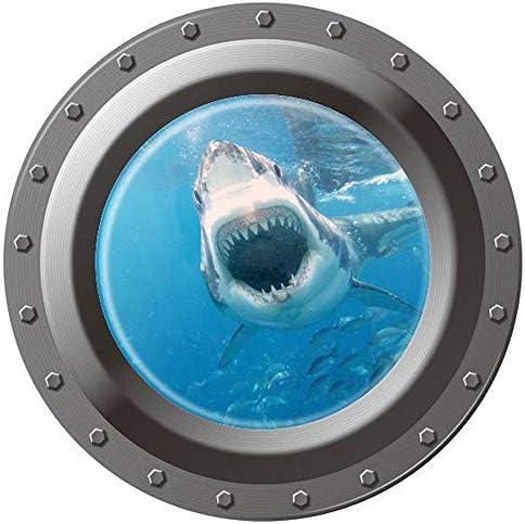 Homefind Submarine Porthole Removable Decoration