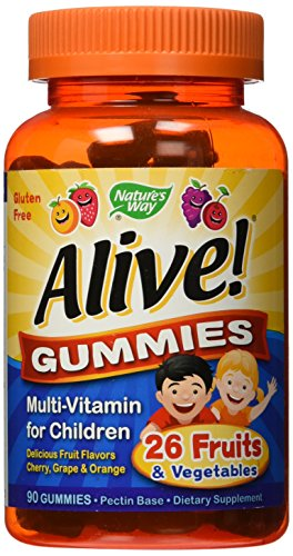 Nature's Way Alive Gummies Multi-Vitamin for Children, 2 Count